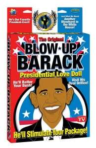 Poupée gonflable Obama - Blow Up Barack