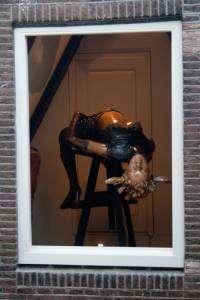 Musée du Sexe, à Amsterdam - Femme à la fenêtre