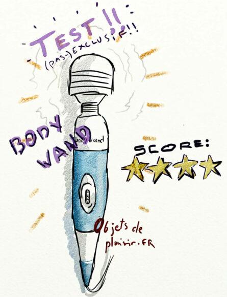 test sextoy Body Wand