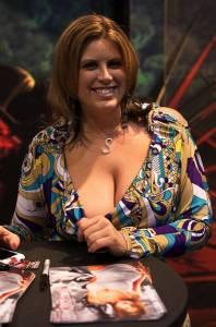 Lisa Sparxxx, détentrice du record du plus gros gang bang