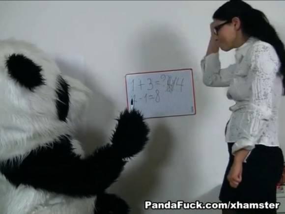 Panda Fuck, un panda porno