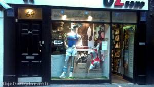 Quartier de Soho à Londres - boutique sexy