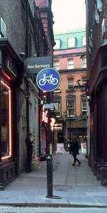 Quartier de Soho à Londres - ruelle