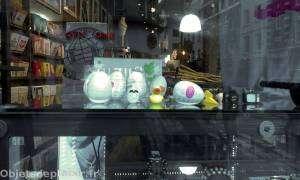 Quartier de Soho à Londres - œufs Tenga en vitrine