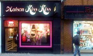 Quartier de Soho à Londres - boutique de lingerie