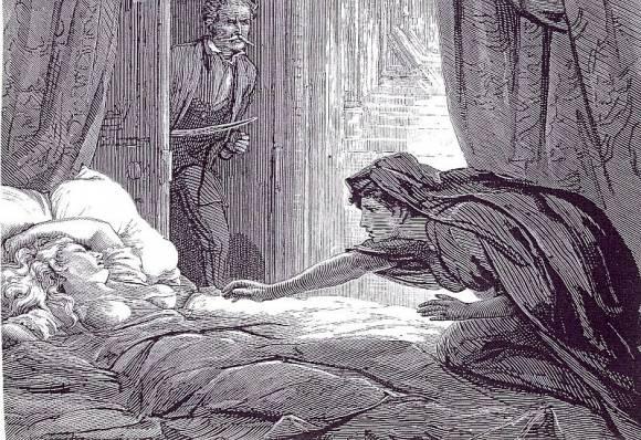 Carmilla, jeune fille vampire lesbienne