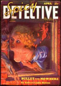 Spicy Detective Stories, un pulp magazine