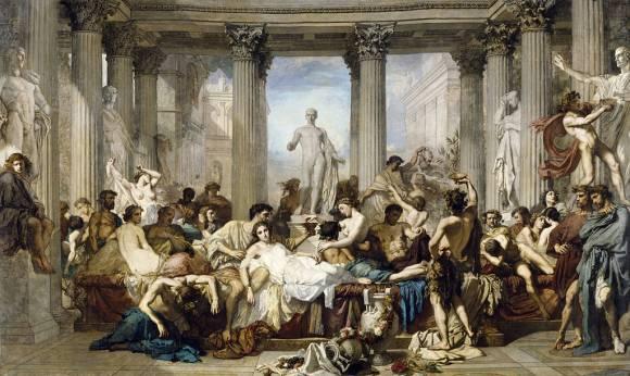 les-romains-de-la-decadence-thomas-couture