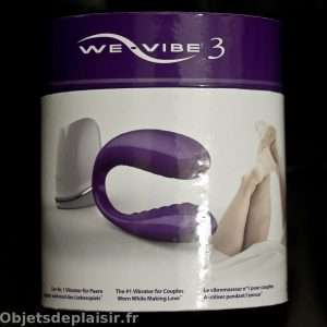 Emballage du We Vibe 3