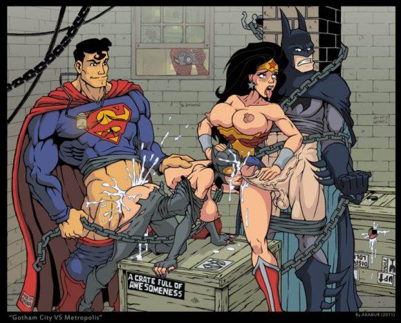 Marvel version porno