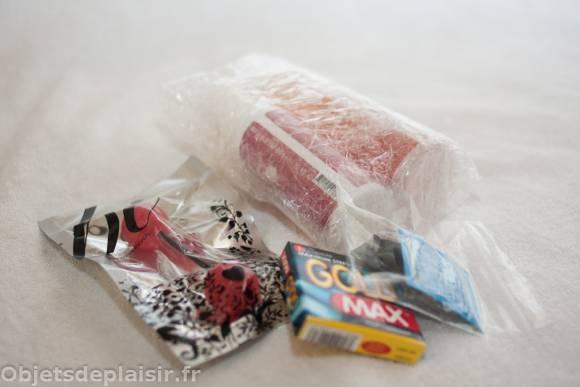 Bukkake artificiel et autres produits rigolos
