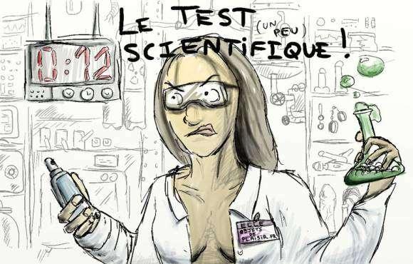 Test scientifique de lubrifiants