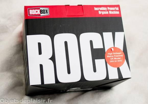 Packaging de la Rock Box
