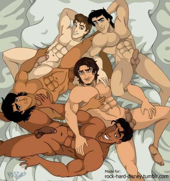 Orgie de princes Disney