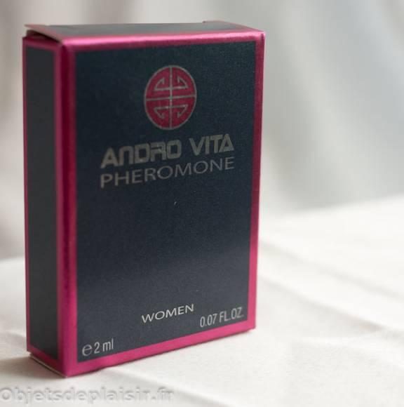 parfum aux phéromones Andro Vita
