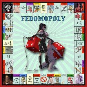 Une autre version du femdomopoly, le monopoly femdom