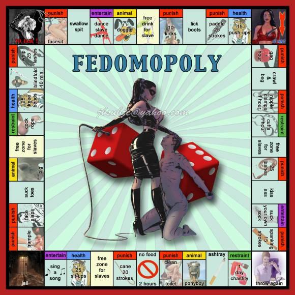 Femdomopoly, le monopoly femdom