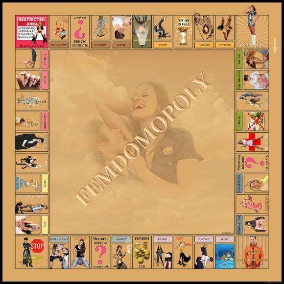 Femdomopoly : le Monopoly Femdom