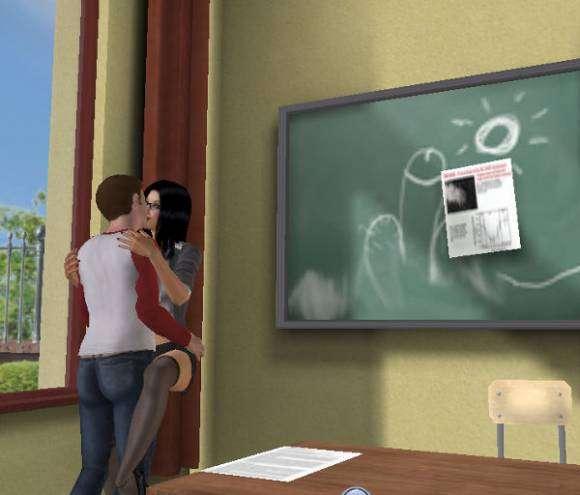 3D Sexvilla - salle de classe