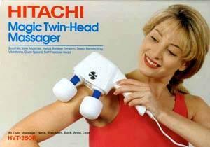 Le vibromasseur à deux têtes Hitachi Magic Twin Head Massager