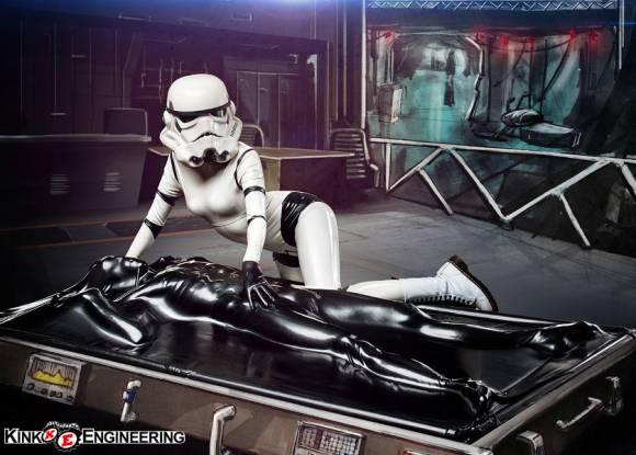 Un sextoy insolite, le vacuum bed Star Wars