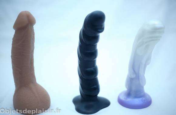 Le Fleshjack Boys Jason Visconti Dick, le Fun Factory Tiger et le Tantus Splash