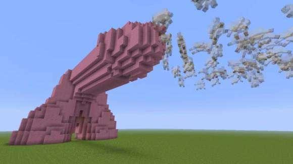 Pénis de Minecraft qui éjacule des moutons et des cochons