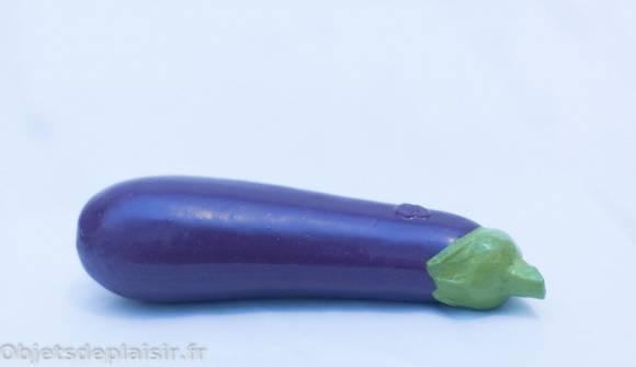 un sextoy légume : le gode SelfDelve Aubergine