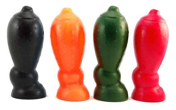 Sextoys mutants : le Plug anal sein Oxballs
