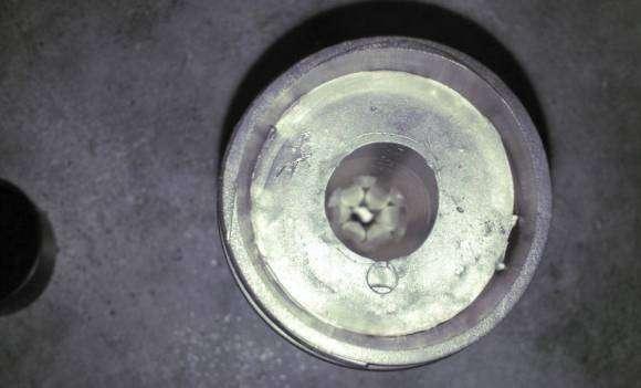 L'orifice d'aération à l'extrémité du Fleshlight Flight