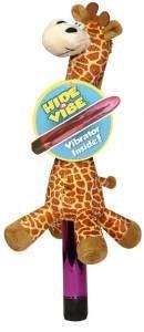 Hide-a-vibe : la girafe en peluche range-vibro