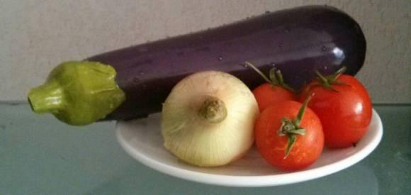 Sextoy du jour - Assiette de légumes