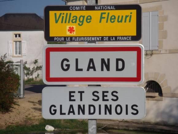villes aux noms érotiques : Gland