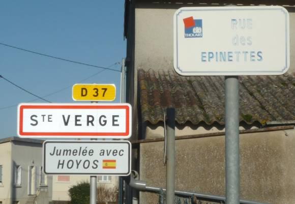 commune de Sainte-Verge, dans le département des Deux-Sèvres