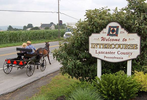ville d'Intercourse, en Pennsylvanie