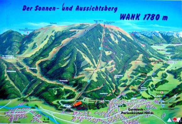 Le mont Wank