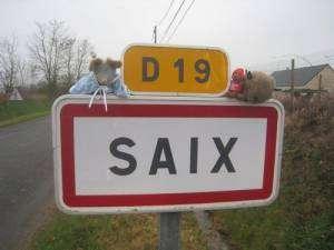 ville de Saïx, dans le Tarn