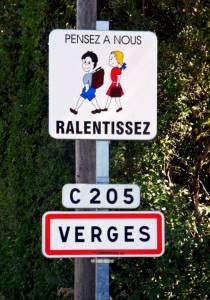 Verges, village du Jura