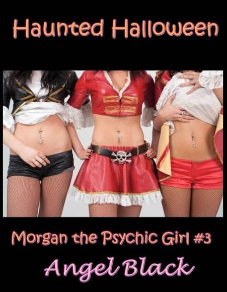 livre érotique avec des fantômes pendant Halloween