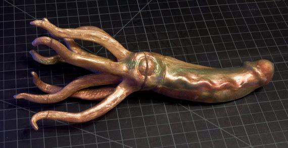 Le Squildo, gode pieuvre : un sextoy d'Halloween insolite