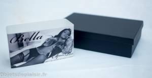 la boîte du harnais Bella