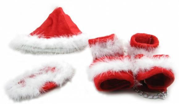 menottes du Père Noël