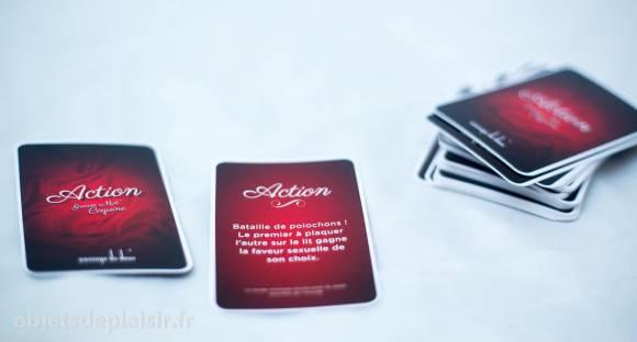 Grasse Mat' Coquine : les cartes Action