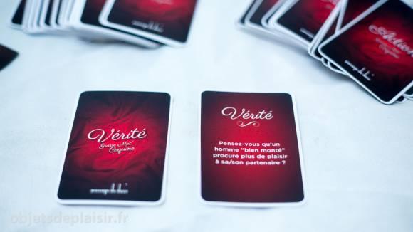 Grasse Mat' Coquine : les cartes Vérité