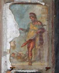 Pompeii, Priape et son pénis