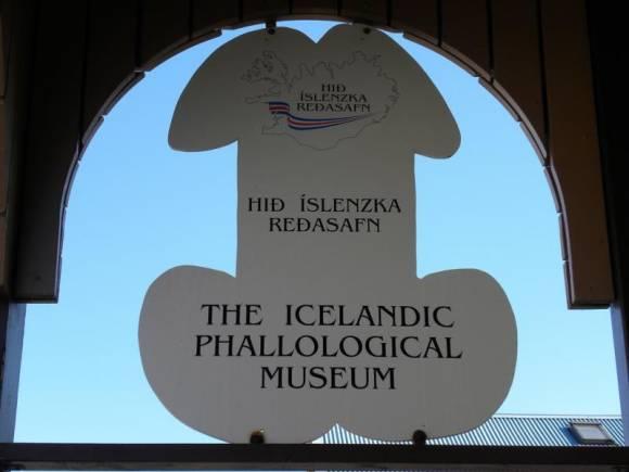 L'enseigne phallique de l'Icelandic Phallological Museum