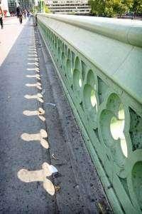 Le Westminster Bridge et ses ombres phalliques