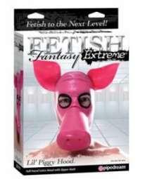 déguisement de cochon sexy - Pipedream Fetish Fantasy Extreme Lil Piggy Hood