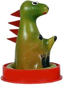 préservatif dinosaure