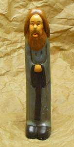 statuette phallique de Jésus, de face